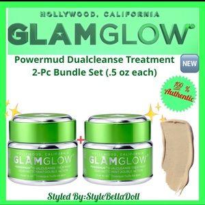 🆕GlamGlow Powermud Dualcleanse Treatment 2-Pc Set